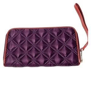 Jacobs by Marc Jacobs Plum/Wine Quilted Wallet
